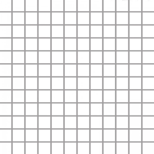 Paradyz Albir Bianco мозаика