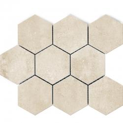 Polcolorit Tempora Beige Heksagon мозаика