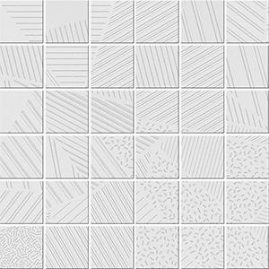 Polcolorit Alaska Bianco Trio мозаика