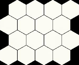 Paradyz Bianco Hexagon мозаика