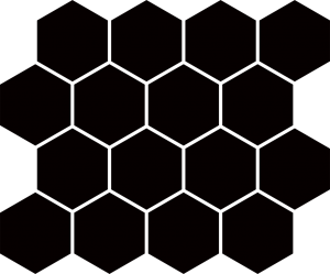 Paradyz Nero Hexagon мозаика