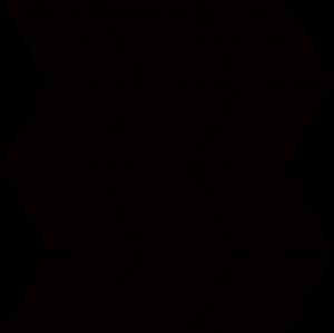 Paradyz Nero Romb Braid мозаика
