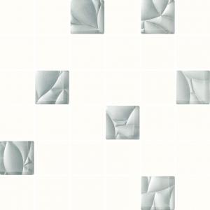 Paradyz Esten Bianco/Silver мозаика
