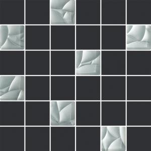 Paradyz Esten Grafit/Silver мозаика