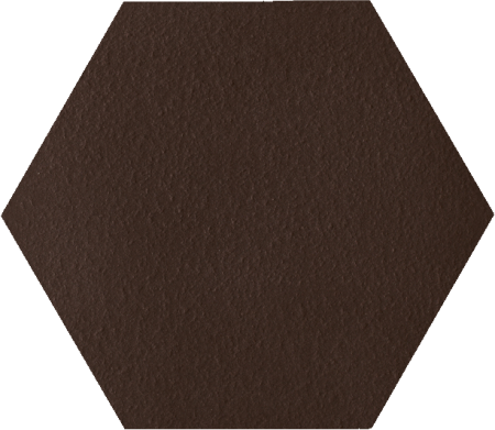 Paradyz Natural Brown Duro Heksagon плитка напольная