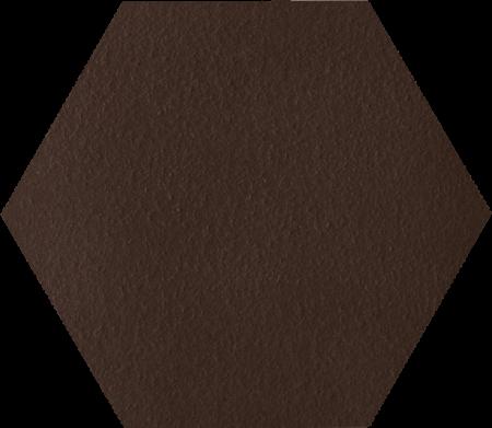 Paradyz Natural Brown Duro Heksagon плитка напольная