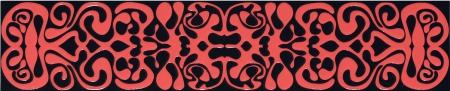 Tubadzin Black&Red 2A бордюр