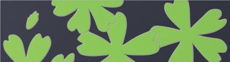 Tubadzin Flower Green 1 бордюр