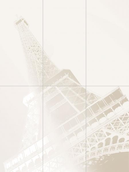 Tubadzin Tour Eiffel панно