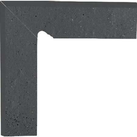 Paradyz Semir Grafit цоколь левый